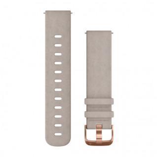 Bracelet Garmin daim gris clair