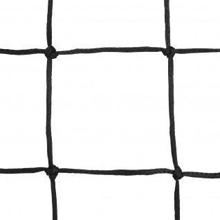 Pair of handball nets pe braided 3mm single mesh 100 Sporti France