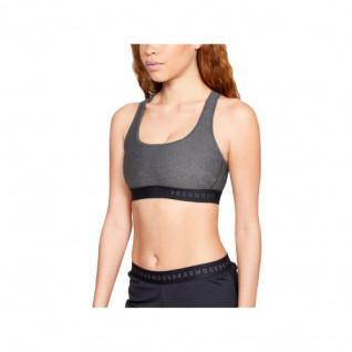 Under Armour Bra woman Mid Crossback Heathered