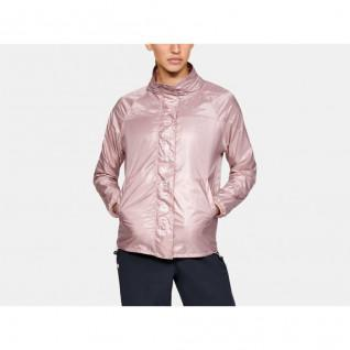 Woman Jacket Under Armour Recover Woven Full Zip