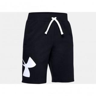 Boy Shorts Under Armour Fleece Logo Rival