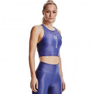 Women's Under Armour short iso-chill tank top