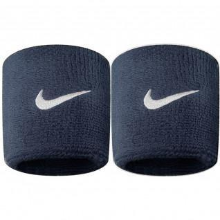 Nike swoosh sponge cuffs