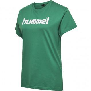 Women's T-shirt Hummel Cotton Logo
