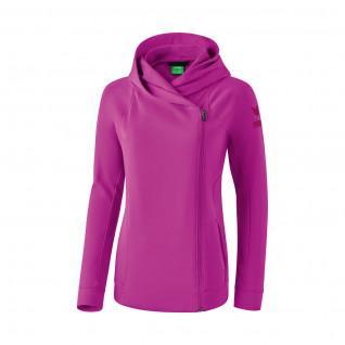 Sweat Jacket Women Erima Hooded essential