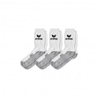 Set of 3 pairs of sports socks Erima