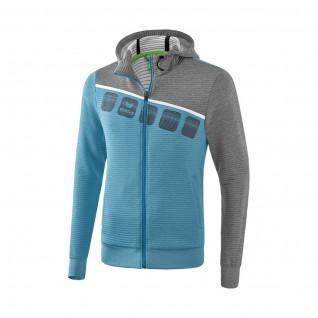 Children's training jacket Erima avec capuche 5-C