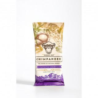 Chimpanzee energy bar vegan (x20): Crunchy Peanut 55g