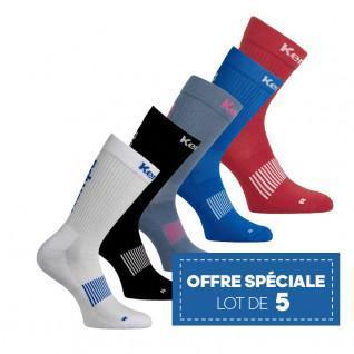 Lot 5 pairs of socks Kempa Logo Classic
