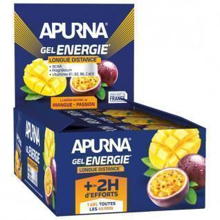 Lot of 24 gels Apurna Energy Mango Passion - 35g