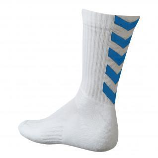 Socks Hummel Authentic Indoor - White / Royal