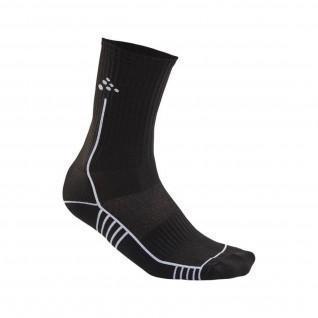 mid-high socks Craft progress