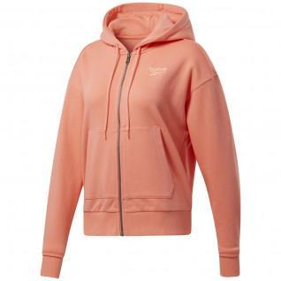Jacket woman Reebok Identity Zip-Up Track