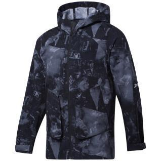 Reebok Printed Utility Jacket