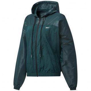 Jacket woman Reebok Shiny Woven