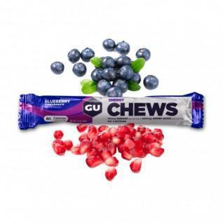 8 Gums Gu Energy blueberry pomegranate (x18)