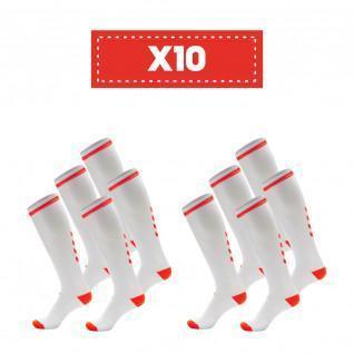 Lot of 10 pairs of socks Hummel Elite Indoor high