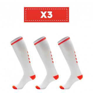 Set of 3 pairs of socks Hummel Elite Indoor high