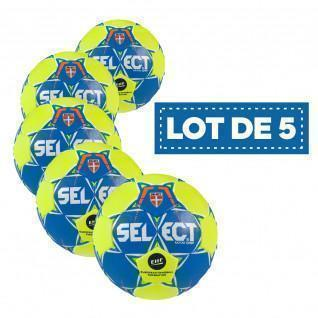 Set of 5 Select Exclusive Maxi Grip handballs