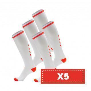 Lot 5 pairs of socks Hummel Elite Indoor high