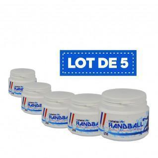 Set of 5 white High Performance Resin Sporti France - 100 ml