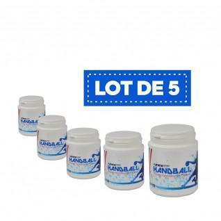 Set of 5 white High Performance Resins Sporti France - 200 ml