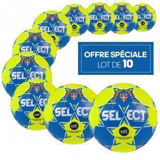 Set of 10 Select Exclusive Maxi Grip handballs