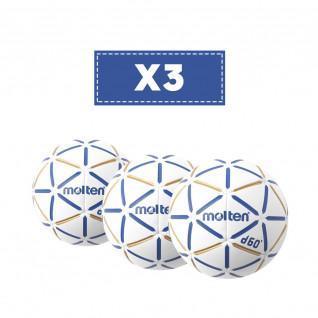 Set of 3 Ball Molten D60