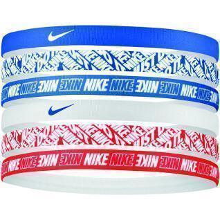 Set of 6 badges Nike printed