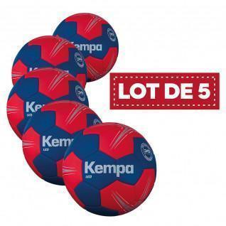 Set of 5 Kempa Leo handballs