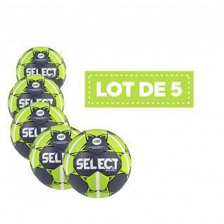 Set of 5 Select HB Solera handballs