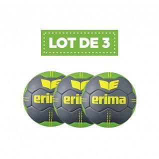 Set of 3 Erima Pure Grip # 2 handballs Size 2