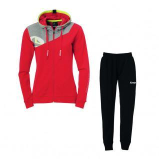 Pack tracksuit hooded woman Kempa Core 2.0