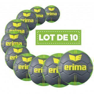 Pack of 10 balloons Erima Pure Grip N° 2 T2