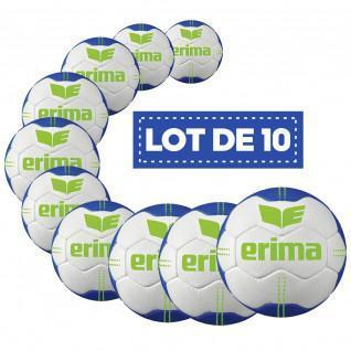 Pack of 10 balloons Erima Pure Grip N° 1 T2
