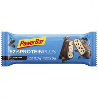 PowerBar 52% ProteinPlus Low Sugar 24x50gr Cookies & Cream Bars