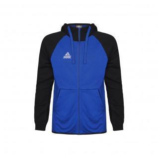 Children's Sweatshirt Peak zip bi-color elite