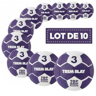 Set of 10 Tremblay top grid 2nd generation handballs