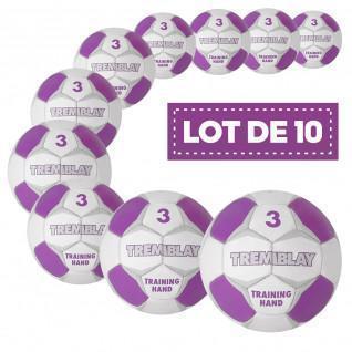 Set of 10 Tremblay training handballs