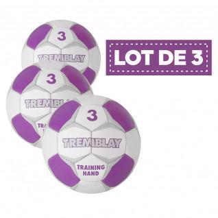 Set of 3 Tremblay training handballs