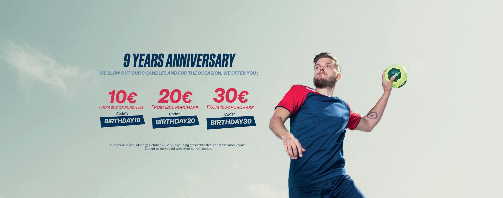The best of the handball brand