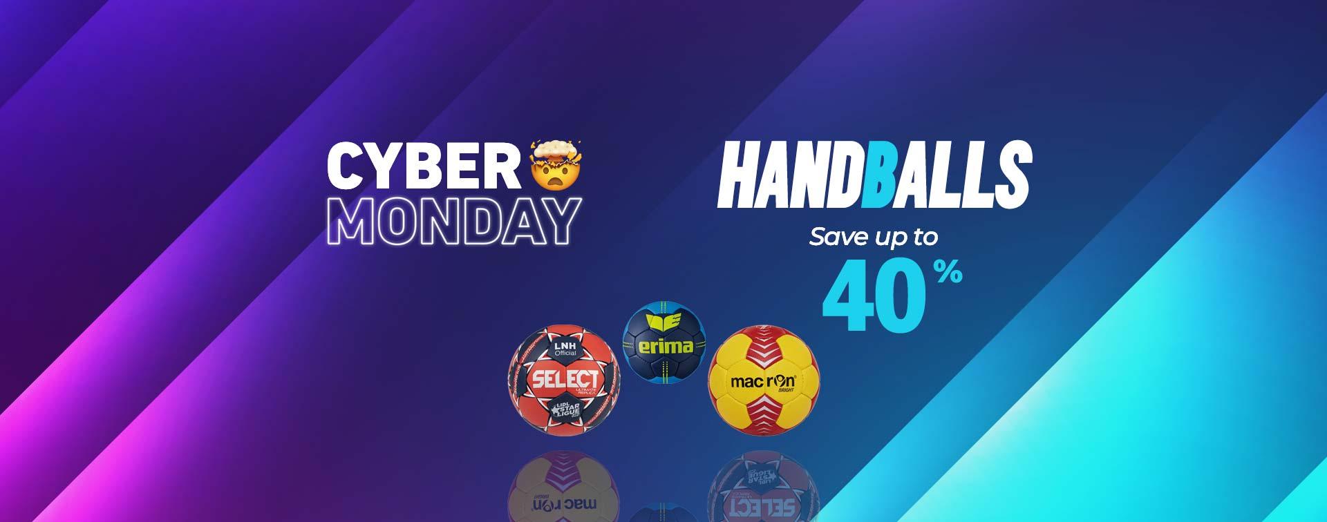 Cyber Monday handballs