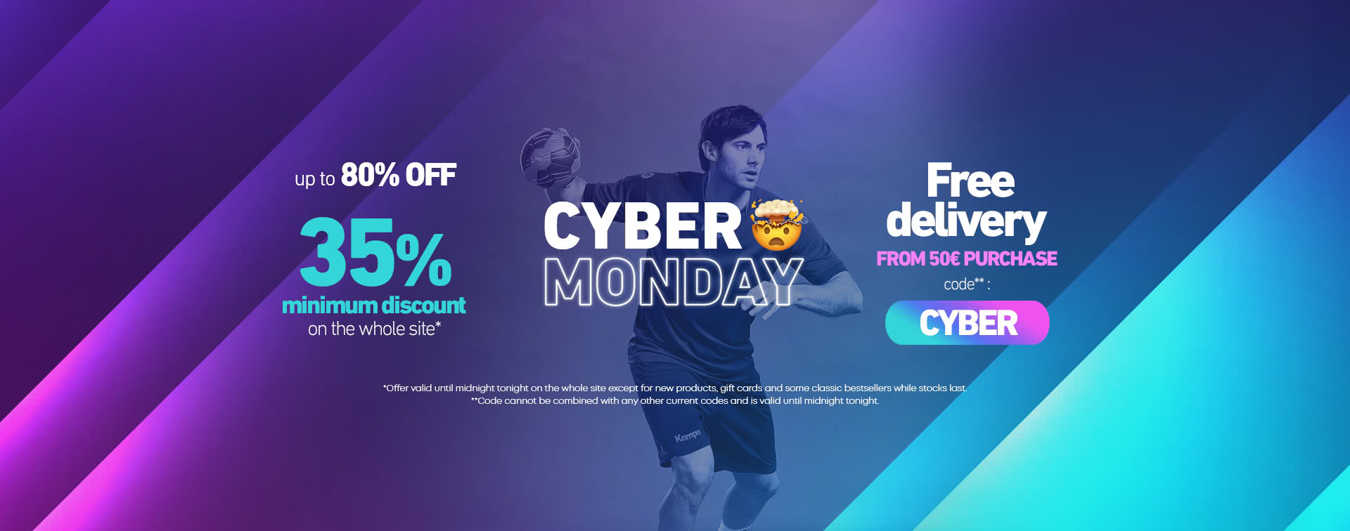 Cyber Monday save up to 80% off