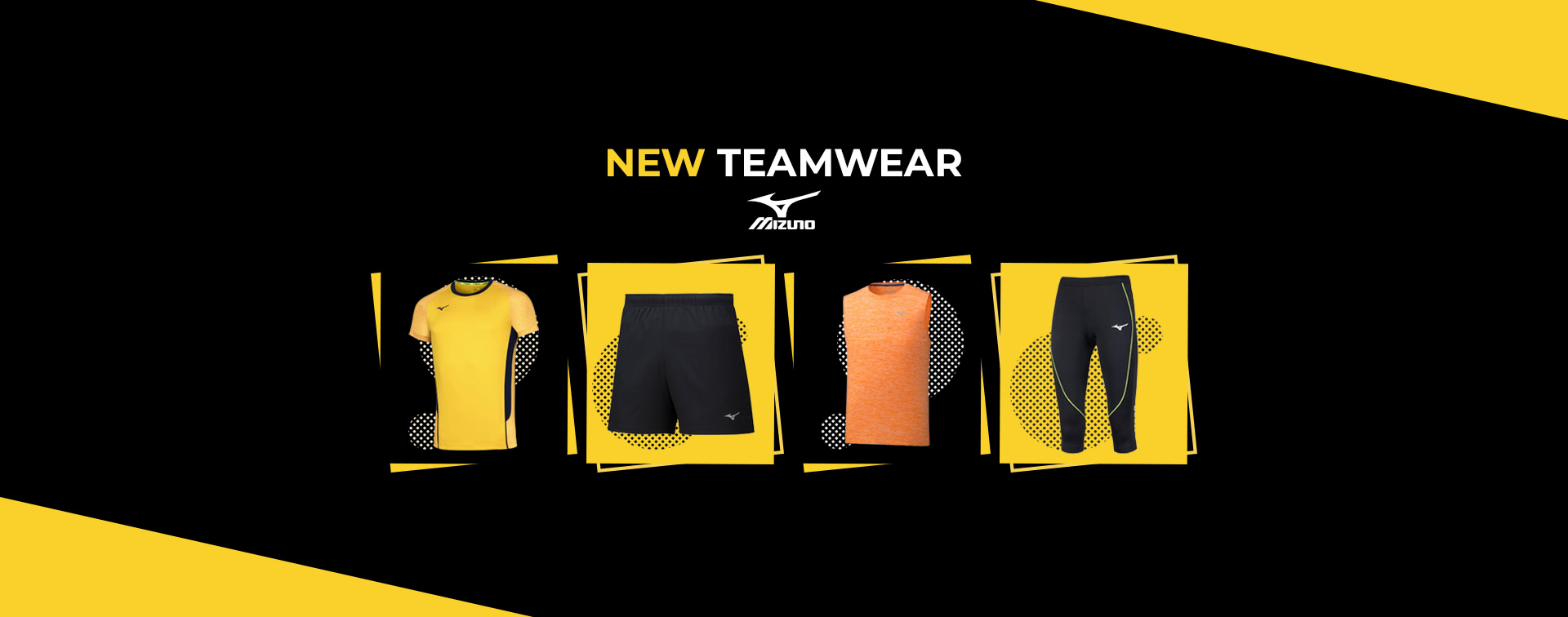 New Mizuno Teamwear